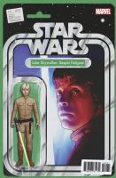 Star Wars #31 - Christopher Action Figure (Luke Skywalker: Bespin Fatigues) Variant Cover